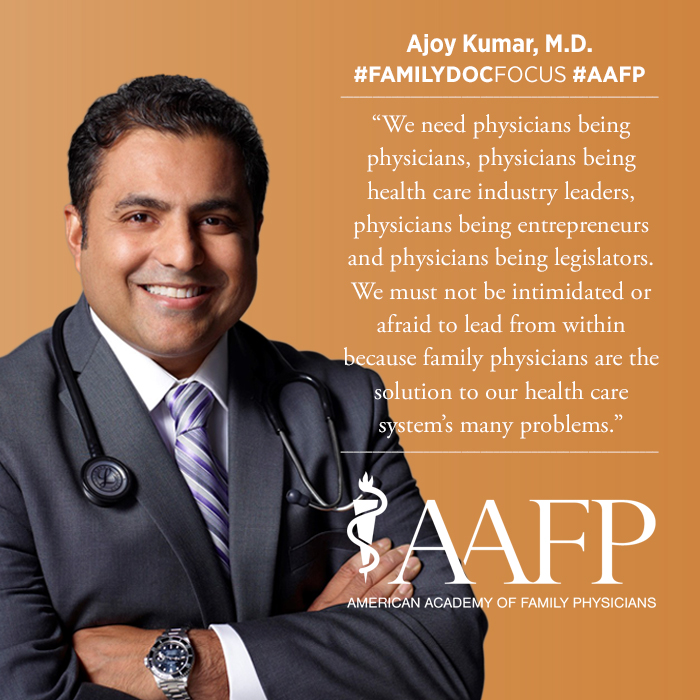 headshot of Ajoy Kumar, M.D.