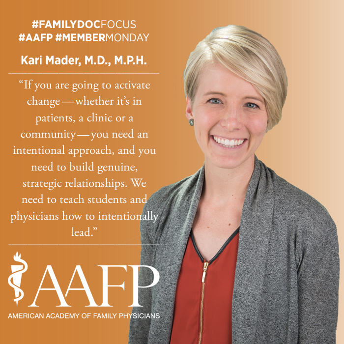 headshot of Kari Mader, M.D., M.P.H.