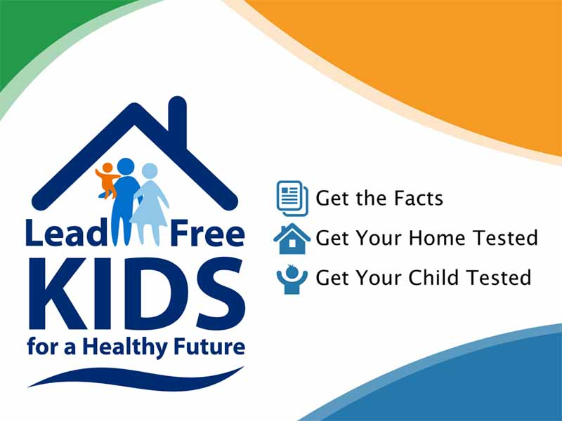 Lead Free Kids for a Healthy Future logo