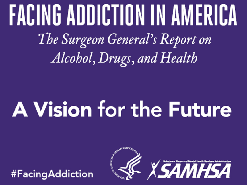 Surgeon General's Report on Alcohol, Drugs and Health image