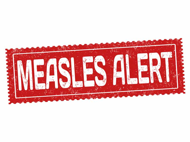 cdc measles update
