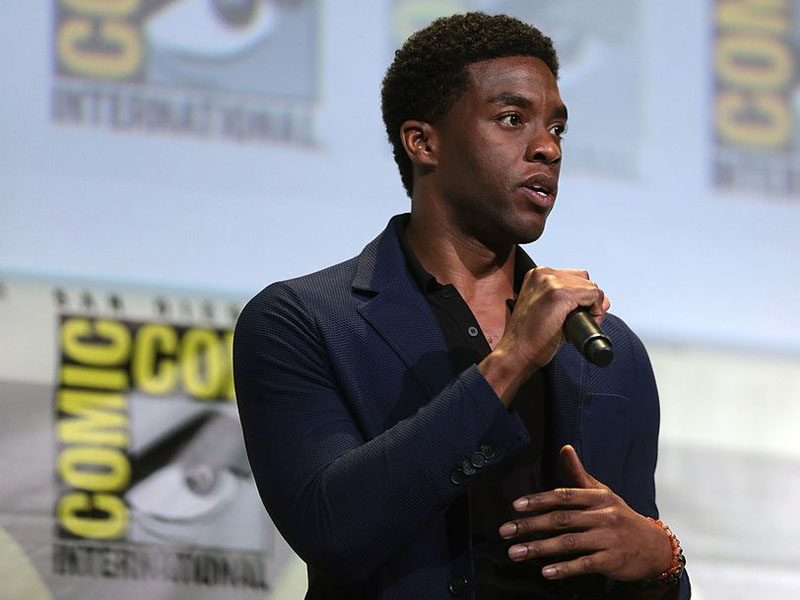 headshot of Chadwick Boseman