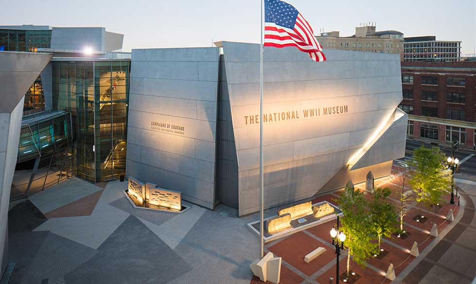 Celebrte at The National WWII Museum