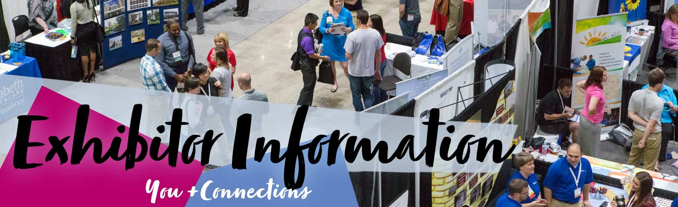 Exhibitor Information = You + Connections