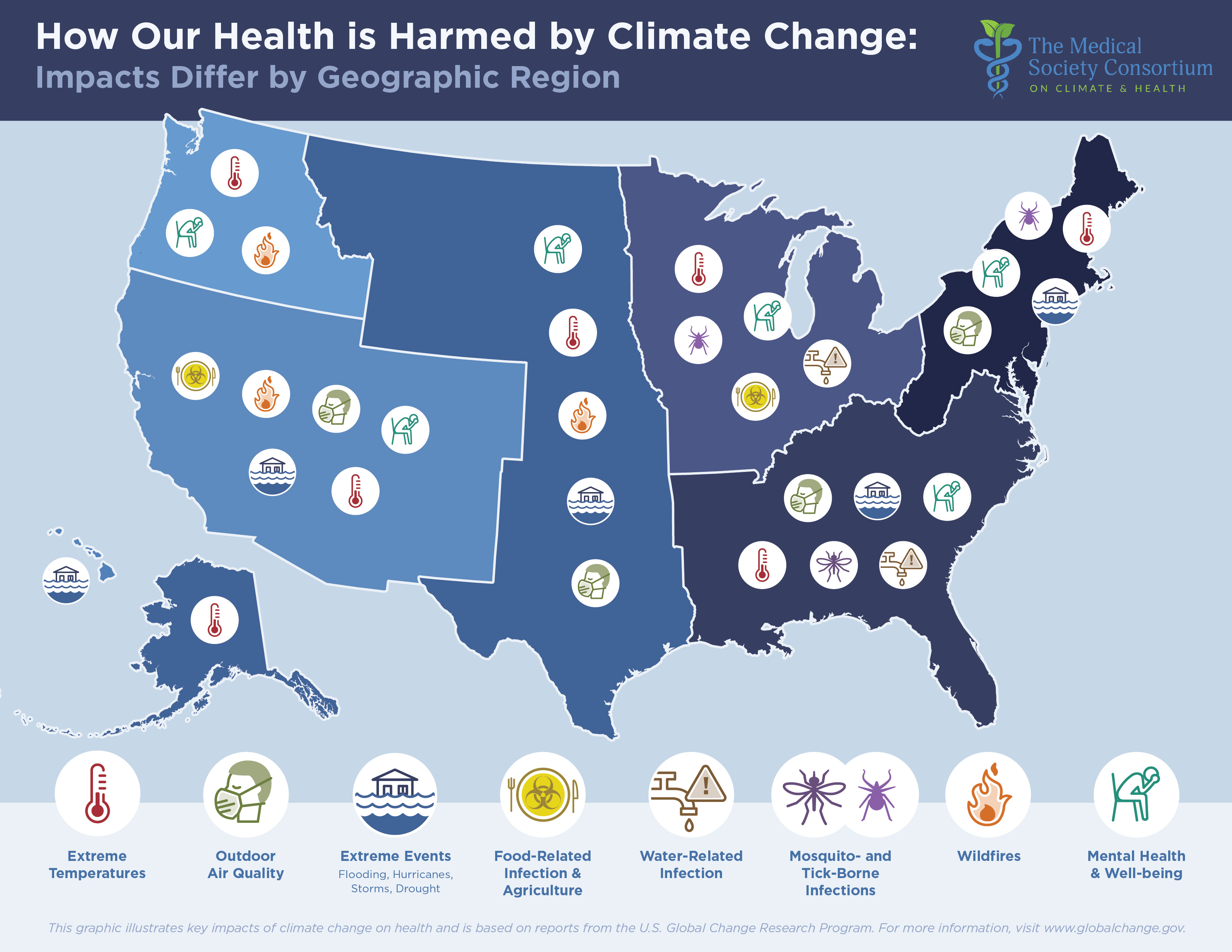 [Medical Society Consortium on Climate and Health Map]
